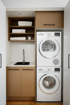 Efficient Small Laundry Room Design Ideas 24