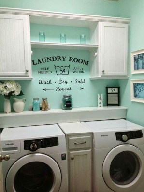 Efficient Small Laundry Room Design Ideas 44