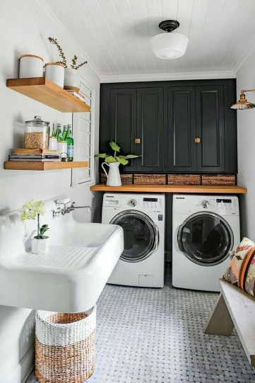 Efficient Small Laundry Room Design Ideas 45