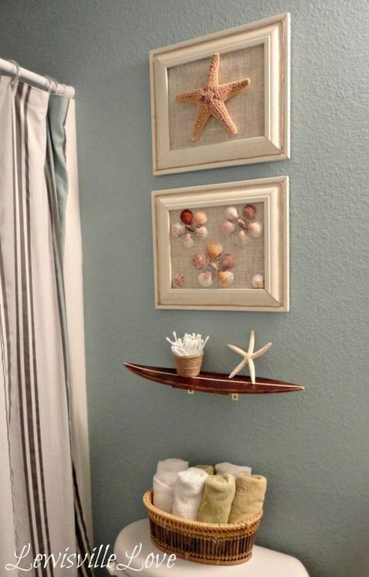 Fabulous Coastal Decor Ideas For Bathroom 38