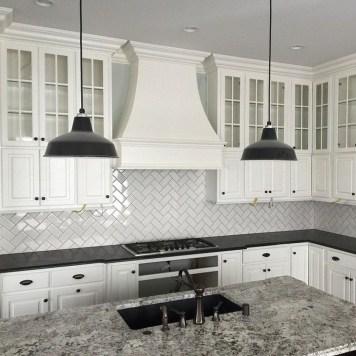 Gorgeous Black Kitchen Design Ideas You Have To Know 35