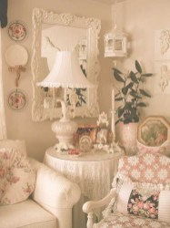 Lovely Shabby Chic Living Room Design Ideas 01