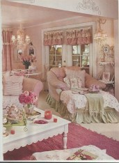 Lovely Shabby Chic Living Room Design Ideas 12