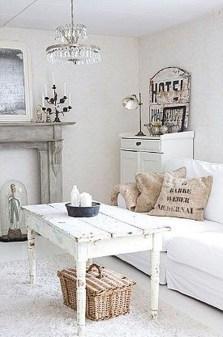Lovely Shabby Chic Living Room Design Ideas 15