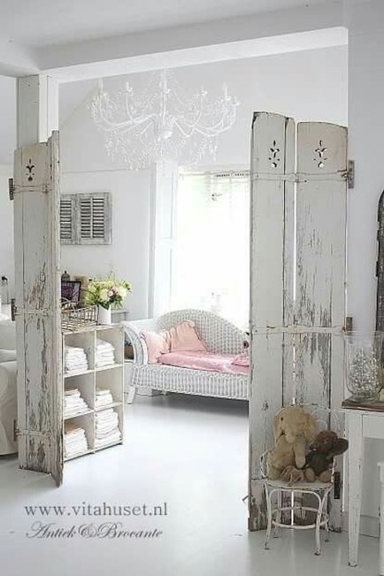 Lovely Shabby Chic Living Room Design Ideas 24
