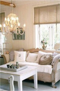 Lovely Shabby Chic Living Room Design Ideas 30