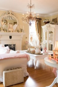 Lovely Shabby Chic Living Room Design Ideas 40