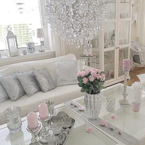 Lovely Shabby Chic Living Room Design Ideas 41