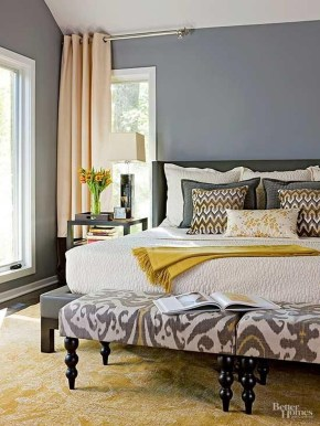 Modern Small Master Bedroom On A Budget 06