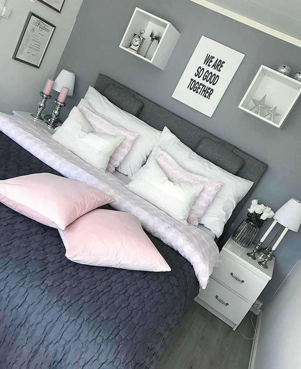 Modern Small Master Bedroom On A Budget 11
