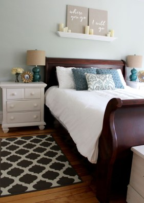 Modern Small Master Bedroom On A Budget 17