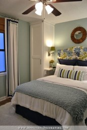 Modern Small Master Bedroom On A Budget 24