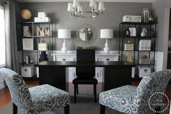 Perfect Contemporary Home Office Design Ideas 12