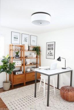 Perfect Contemporary Home Office Design Ideas 13