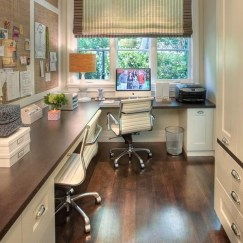 Perfect Contemporary Home Office Design Ideas 29