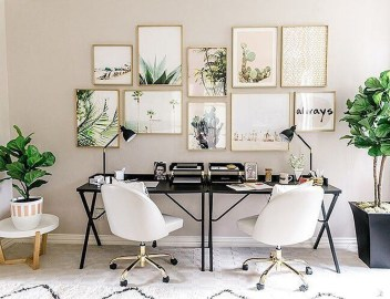 Perfect Contemporary Home Office Design Ideas 33