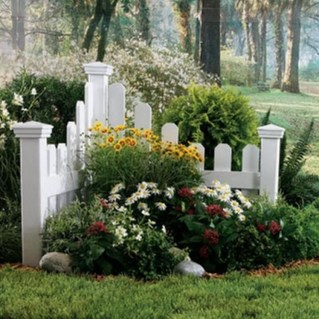 Relaxing Front Yard Fence Remodel Ideas For Your Home 02