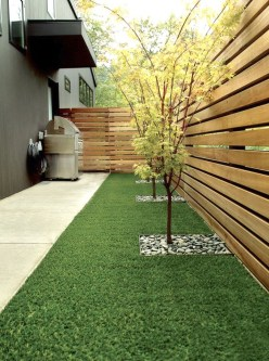 Relaxing Front Yard Fence Remodel Ideas For Your Home 05