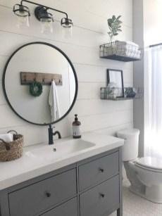 Stunning Rustic Farmhouse Bathroom Design Ideas 32