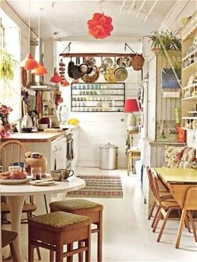 Classy Bohemian Style Kitchen Design Ideas 09