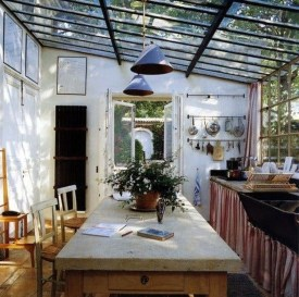 Classy Bohemian Style Kitchen Design Ideas 14