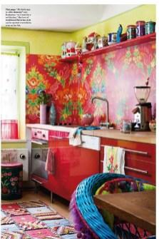Classy Bohemian Style Kitchen Design Ideas 15