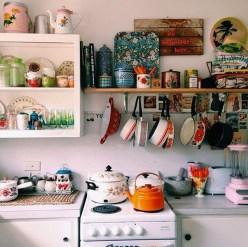 Classy Bohemian Style Kitchen Design Ideas 48