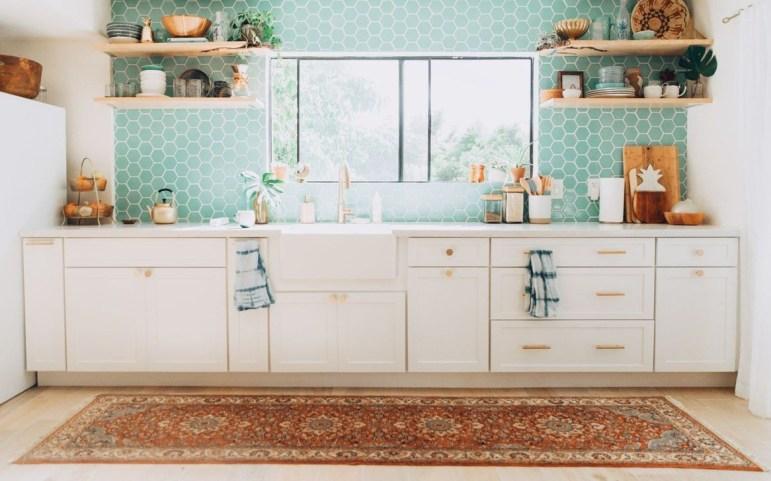 Classy Bohemian Style Kitchen Design Ideas 53