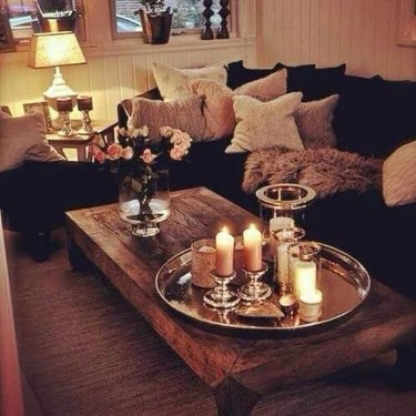Cozy And Relaxing Living Room Design Ideas 09