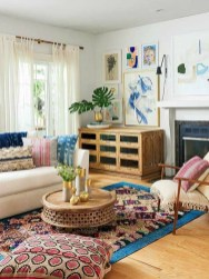 Cozy And Relaxing Living Room Design Ideas 12
