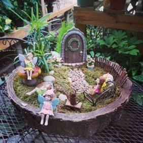 Cute Fairy Garden Design Ideas 01
