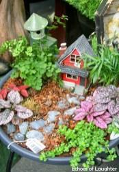 Cute Fairy Garden Design Ideas 15