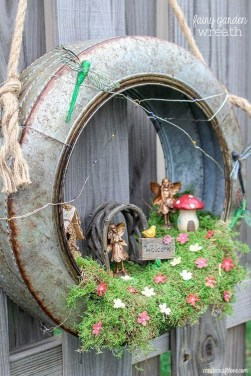 Cute Fairy Garden Design Ideas 18