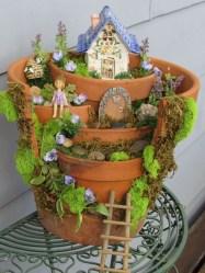 Cute Fairy Garden Design Ideas 27