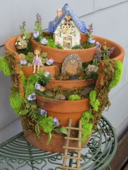 Cute Fairy Garden Design Ideas 27