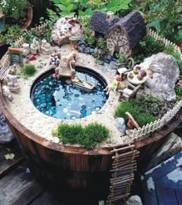 Cute Fairy Garden Design Ideas 33