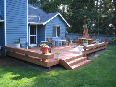 Easy DIY Wooden Deck Design For Your Home 10
