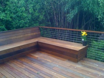 Easy DIY Wooden Deck Design For Your Home 19