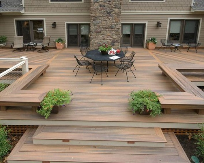 Easy DIY Wooden Deck Design For Your Home 37