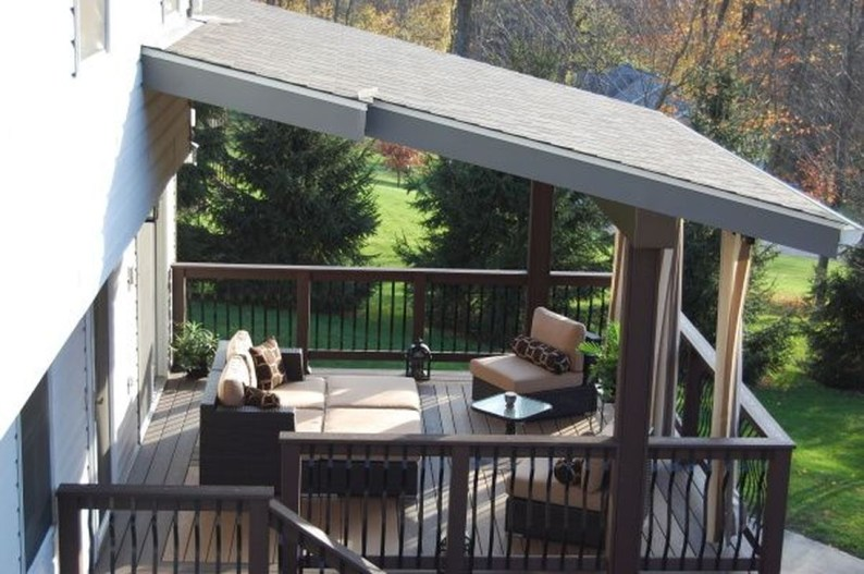 Easy DIY Wooden Deck Design For Your Home 44