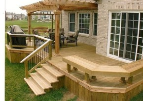 Easy DIY Wooden Deck Design For Your Home 49