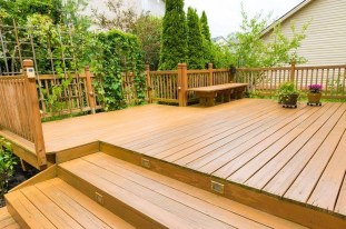 Easy DIY Wooden Deck Design For Your Home 50
