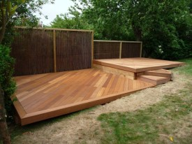 Easy DIY Wooden Deck Design For Your Home 52