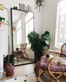 Elegant Bohemian Style Living Room Decoration Ideas 02