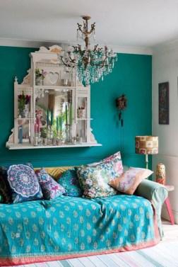 Elegant Bohemian Style Living Room Decoration Ideas 06