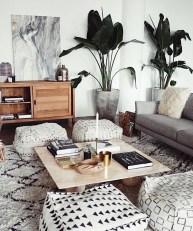 Elegant Bohemian Style Living Room Decoration Ideas 29