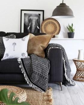 Elegant Bohemian Style Living Room Decoration Ideas 35