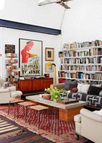 Elegant Bohemian Style Living Room Decoration Ideas 37