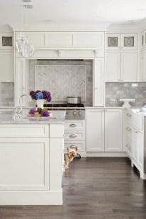 Elegant White Kitchen Cabinets For Your Kitchen 04