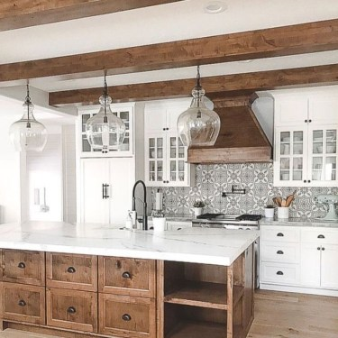 Elegant White Kitchen Cabinets For Your Kitchen 06